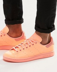 Оранжевые кроссовки adidas Originals Stan Smith adicolor S80251