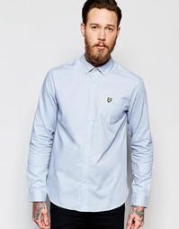 Оксфордская рубашка Lyle & Scott - Синий