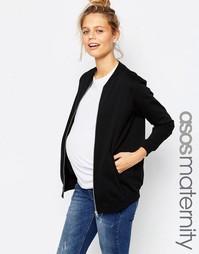 Куртка-пилот для беременных ASOS Maternity - Черный
