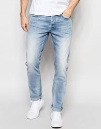 Светлые джинсы прямого кроя Only & Sons - Светло-голубой