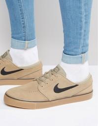 Кроссовки Nike SB Zoom Stefan Janoski 333824-212 - Бежевый