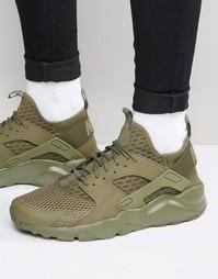 Кроссовки Nike Air Huarache Run Ultra Br 833147-200 - Зеленый