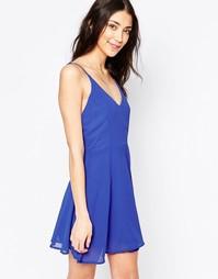 Платье бэби-долл Glamorous - Королевский синий