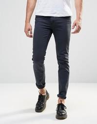 Крашеные джинсы скинни Cheap Monday - Крашеный