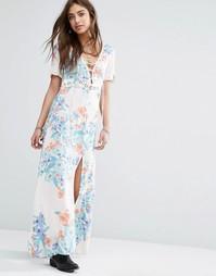 Платье макси с цветочным принтом Somedays Lovin Daydreamer - Мульти