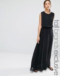 Платье макси Y.A.S Tall - Черный