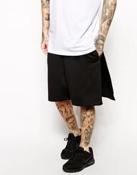 Трикотажные шорты AQ/AQ - Черный