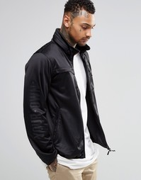 Куртка на молнии с отделкой декоративным кантом Your Own - Черный