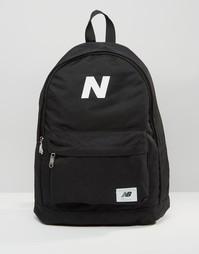 Черный рюкзак New Balance Mellow - Черный