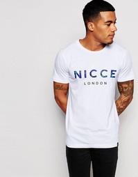 Футболка с логотипом Nicce Select - Белый