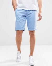 Синие шорты чиносы Minimum - Кашемировый синий