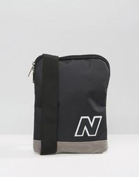 Черная сумка для путешествий New Balance 420 - Синий