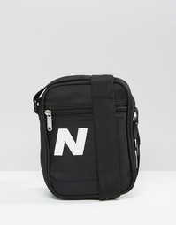 Черная сумка для путешествий New Balance Chill - Синий
