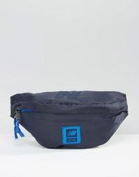 Синяя сумка-пояс New Balance 410 - Синий