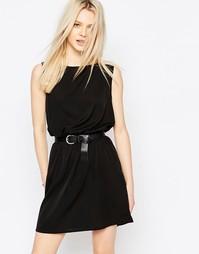 Черное платье без рукавов JDY - Черный1