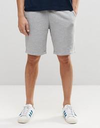 Трикотажные шорты с принтом Jack Wills - Серый меланж
