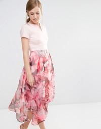 Платье с принтом Coast Berlin Ciarra - Мульти