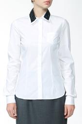 Рубашка с отделкой Jil Sander