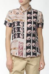 Рубашка с орнаментом Jil Sander