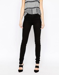 Зауженные джинсы Vero Moda - Черный