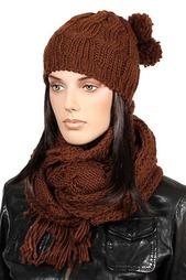 Комплект: шарф и шапка Sabellino
