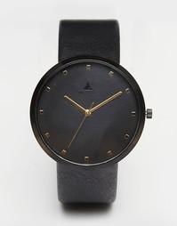 Черные часы с золотой отделкой ASOS - Черный