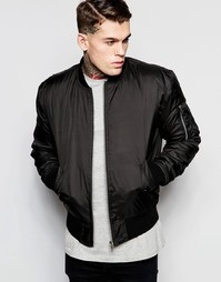 Куртка-пилот Hype MA1 - Черный