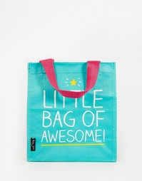 Сумка для ланча Happy Jackson Little Bag of Awesome Lunch - Зеленый