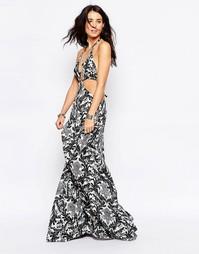 Платье макси Raga Blackbird
