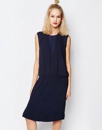 Платье без рукавов Samsoe & Samsoe Aller - Темно-синий Samsøe &; Samsøe