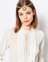 Эффектное украшение на голову с кристаллами Swarovski Krystal