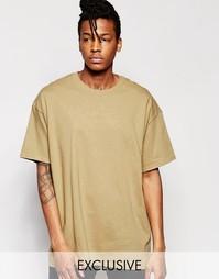 Oversize-футболка Reclaimed Vintage - Рыжий
