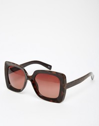 Большие солнцезащитные очки в квадратной оправе в стиле 70-х ASOS
