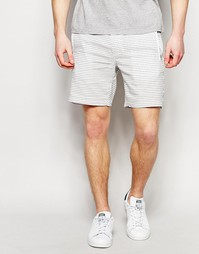 Узкие шорты чиносы в мелкий горошек ASOS - Белый