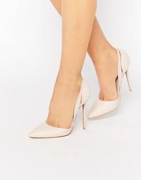 Телесные туфли‑лодочки из двух частей с вырезами Daisy Street