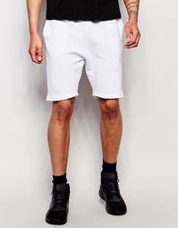 Трикотажные шорты SikSilk - Белый