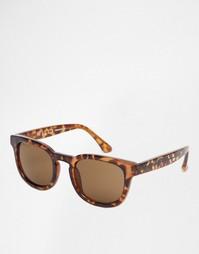Квадратные солнцезащитные очки Jack Wills - Коричневый