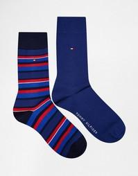 Набор из 2 пар носков в полоску Tommy Hilfiger - Синий