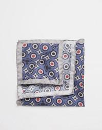 Платок-паше с фирменным принтом Vivienne Westwood - Синий