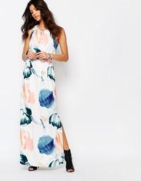 Платье макси Y.A.S - Мульти