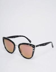 Солнцезащитные очки кошачий глаз с розовыми линзами Quay Australia My