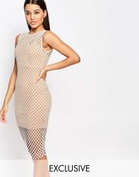 Сетчатое платье NaaNaa
