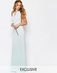 Платье-трансформер длины макси TFNC WEDDING - Morning mist