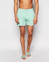 Светло-зеленые шорты для плавания Threadbare Riviera - Зеленый