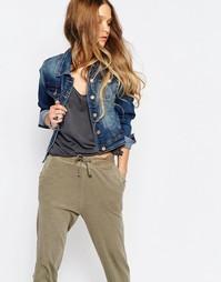 Приталенная джинсовая куртка Glamorous - Синий