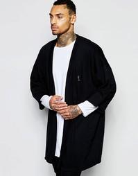 Трикотажное кимоно Religion - Черный