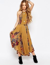 Платье миди Free People Seasons In The Sun