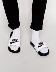 Шлепанцы Nike Benassi JDI 343880-100 - Черный