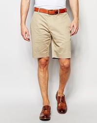 Хлопковые облегающие шорты ASOS - Stone