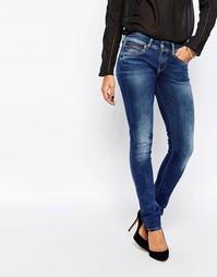 Зауженные джинсы Pepe Jeans New Brooke - 000 деним